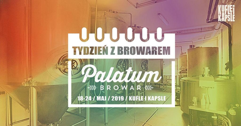Browar Palatum w Kufle i Kapsle craft beer pub Warsaw, Warszawa, piwo kraftowe, piwo rzemieślnicze
