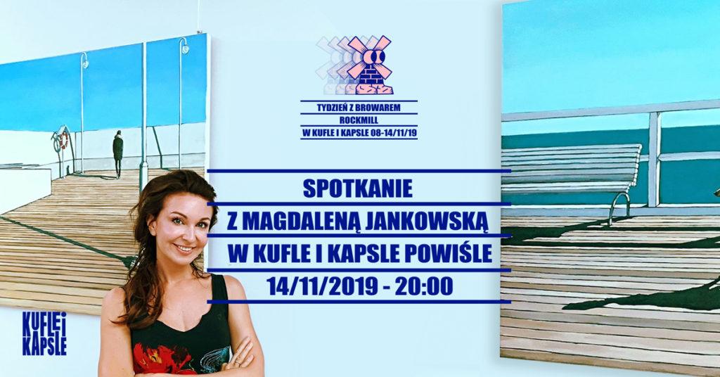 Magdalena Jankowska w Kufla i Kapsle Powiśle Craft Beer Pub