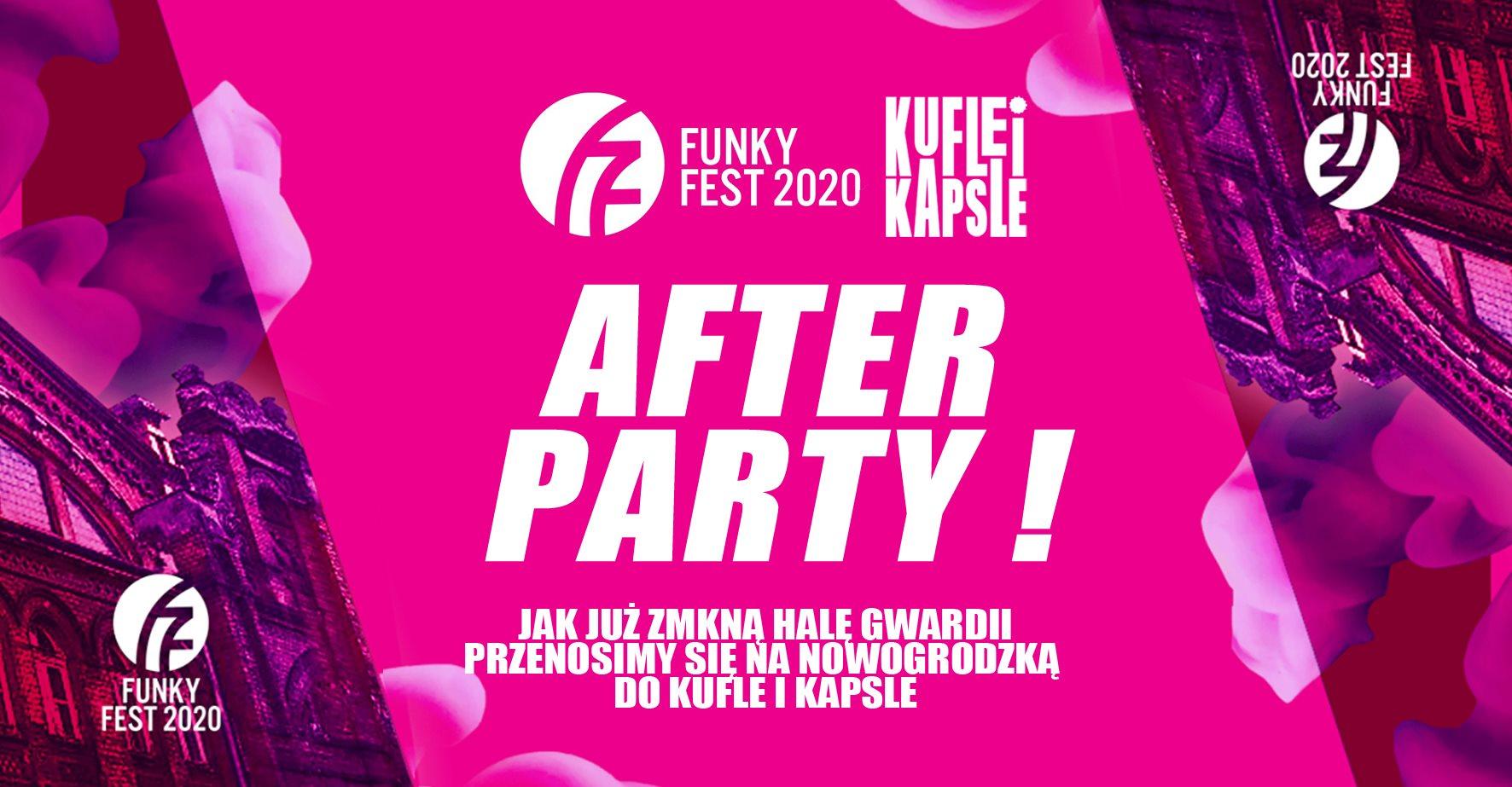 Funky Fest 2020 Afterparty w Kufle i Kapsle